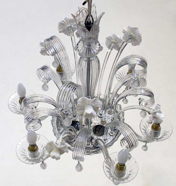 Murano Chandelier Nz: George Chimirri Interior Design